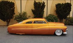 Perhaps the most famous custom car is the 1951 Hirohata Mercury, named for original owner Robert Hirohata,. Despite extensive customizing, the car still is recognizable as a Mercury, illustrating the dashing styling the cars of the time had.
