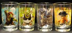 This image provided by the U.S. Consumer Product Safety Commission shows 'Shrek Forever After' 3D drinking glasses being recalled by McDonald's.