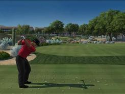 """""""Tiger Woods PGA Tour 11"""" from EA Sports lets you play as Tiger Woods or a handful of other PGA and LPGA pros. You can also create a unique golfer from scratch."""