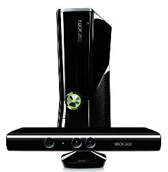 Microsoft's Xbox 360 250GB and Kinect.
