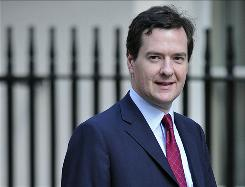 Britain's Treasury chief George Osborne says he will reform the United Kingdom's regulatory process.