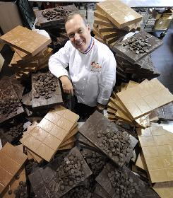 """Making chocolate is a way of life, not a profession,"" says chocolate master Jacques Torres. ""I like the freedom of doing what I think is right. I believe in myself. If I make a mistake, it will be my mistake."""