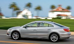 The 2010 Volkswagen CC.