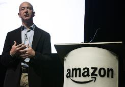 "Jeff Bezos predicts Kindle e-book sales ""will surpass paperback sales sometime in the next nine to 12 months."""