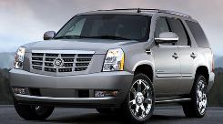 Cadillac Escalade is popular with auto thieves.