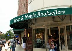 Barnes & Noble has lost about 30% of its stock's market value this year.