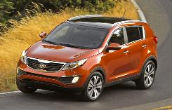 Sportage handles hills with ease, and it has nice interior touches. But the tough ride is a deal breaker.