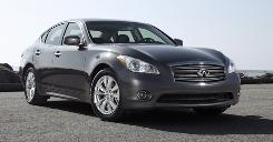 Infiniti M56's lane warning system can be an aggravation.