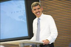 Mohamed El-Erian, CEO and co-chief investment officer of Pimco, says investors should own fewer stocks. 