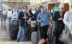 A power outage at Ronald Reagan Washington National Airport on July 15 delayed flights and closed security checkpoints for hundreds of travelers. Such a delay can cause a domino effect, bumping passengers.
