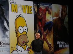 Steve Jobs discusses Apple TV at Macworld 2008.