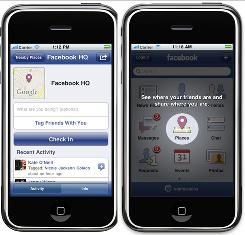 Facebook on Wednesday became the latest company to dive into the location-based services market.