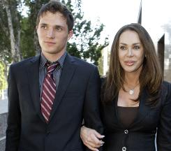 Jennifer McKay Gold and her son, David, whose father is billionaire developer Donald Bren.