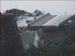 Thirteen people died and 145 were injured when the Interstate 35W bridge in Minneapolis collapsed, sending numerous vehicles into the Mississippi River in 2007.