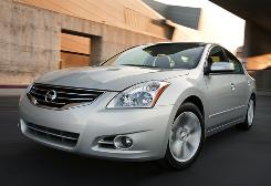 The 2010 Altima sedan is one of Nissan's top sellers.