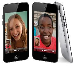 The new iPod Touch is more like the iPhone4, with front and rear cameras and FaceTime video calling.