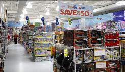 "Toys R Us will open 600 ""Express"" stores, like this one at Monmouth Mall in Eatontown, N.J."