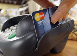 As credit card usage declines, debit card purchases are on the rise.