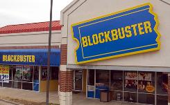 Increased competition in the video rental business has taken a toll on Blockbuster rental stores.