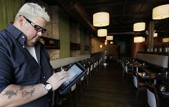 Restaurants are using social media like Twitter for many things. Chef Graham Elliot of Graham Elliot restaurant uses Twitter to let his followers make decisions about the music the restaurant plays. He frequently tweets his opinions about topics other than his restaurant or cooking, from current events to fantasy football picks.