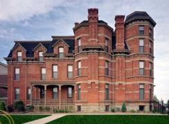 This home, listed  for $2.5 million, is the most expensive on the Detroit market.