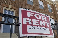 The economic downturn is taking it's toll on renters as well as homeowners as more renters find housing unaffordable.