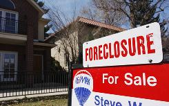 The second quarter of 2010 saw an uptick in the number of foreclosures.
