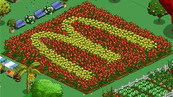 Today only, those who click on McDonald's FarmVille farm will be rewarded with virtual goodies.