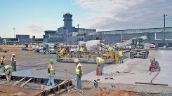 Baltimore Washington International received $15 million in stimulus funds for projects