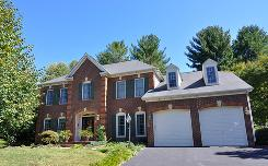 This three-story colonial, listed for $900,000, is the most expensive property on the Columbia, Md., market.