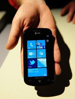 The Windows Phone 7.