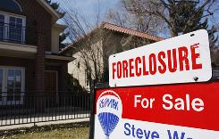 A total of 288,345 properties were lost to foreclosure in the July-September quarter, according to data by RealtyTrac, a foreclosure listing service.