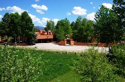 This adobe estate, on 12.4 acres with mountain views, is on the market in Taos, N.M., for $3.9 million.