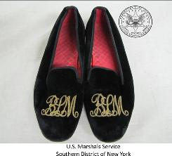 Bernard Madoff's slippers will be auctioned.