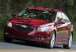 Chevy Cruze went on sale in September. Dealers should have full inventories soon.