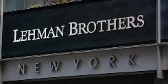 Offices of the defunct Lehman Brothers in New York.