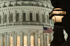 The U.S. Capitol in Washington.