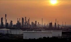 An oil refinery in Port Arthur, Texas.