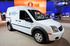 Strong sales of trucks, including the Transit Connect, led Ford's sales in November.