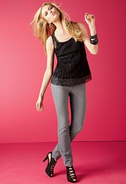 Jeggings are one of the hottest items in the denim market. JCPenney carries over 60 styles including these women's jeggings from its a.n.a. brand.