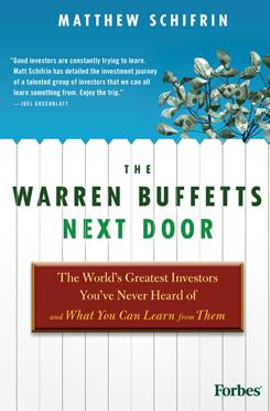 """The Warren Buffetts Next Door"" by Matthew Schifrin."