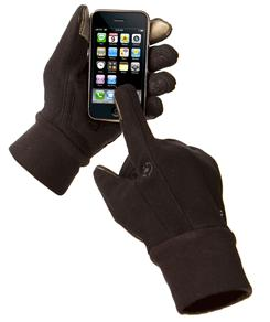 Tavo gloves let you use your touch-screen with gloves on.