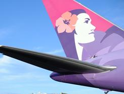 Hawaiian Airlines was tops in timeliness in October.