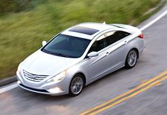 The 2011 Hyundai Sonata 2.0T, a turbocharged, dandy sedan.