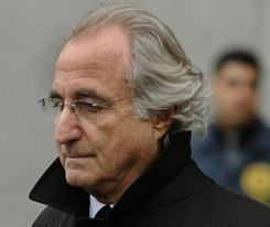 Bernard Madoff leaves US Federal Court in this January 14, 2009 file photo after a hearing regarding his bail in New York.
