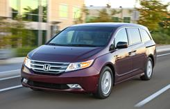 2011 Honda Odyssey can be leased for $360 a month with $0 due at signing.