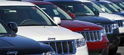 Sales of the Jeep Grand Cherokee rose 211% in December 2010, thanks to the release of the 2011 model.