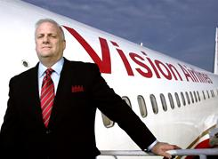 Vision Airlines COO David Meers says the company sees a marketplace niche to provide packages at discounted prices.