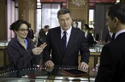 "NBC hit ""30 Rock,"" starring Tina Fey and Alec Baldwin, features an ongoing subplot about a cable company taking over their network."
