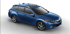 The Acura TSX Sport Wagon is peppy and agile.